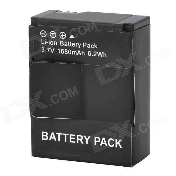High Capacity 1680mAh Li-ion Replacement Battery for GoPro Hero 3+ / Hero 3 Series