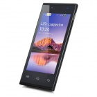 "R888 Dual-core Android 4.4 GSM Bar telefon w / 4 ""displej, Dual-Band, GPS, Bluetooth, Wi-Fi - Black"