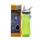 AceCamp 1553 Travel Outdoor Sports Camping juomapullo Cup - Translucent Green (600 ml)