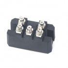 ZnDiy-BRY MDS100-1600 100A 1600V Copper 3-Phase Bridge Rectifier w/ 5 Terminals Diode - Black