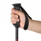 Acecamp Retractable 3-Section Hiking Stick Trekking Pole - Black + Red