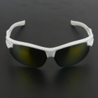 OUMILY Outdoor Cycling Sunglasses Goggles w/ Replaceable Lenses Set - White