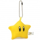 Cute Super Mario Figure Keychain Toy - Star