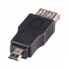 CM01 Micro USB male naar USB Female Adapter - Zwart (10 PCS)