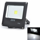 Marsing 20W Outdoor Waterproof Flat Panel 1800lm 6500K LED White Light Flood / Projection Lamp