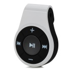 HZ2037 Mini Portable Stereo Audio Bluetooth V3.0 Receiver Adapter + Earphone - White + Black