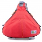 Caseman AOS1-23 Triangle One-Shoulder Camera Nylon Bag - Red