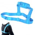 NEOpine Colorful Single Shoulder Chest Strap Mount for GoPro Hero 2 / 3 / 3+ Camera - Blue