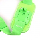 NEOpine Colorful Single Shoulder Chest Strap Mount for GoPro Hero 2 / 3 / 3+ Camera - Green