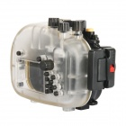 Meikon Underwater Diving Camera Waterproof Cover Case for OLYMPUS E-P5 - Black