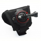 BZ BZ127L 360 Degree Rotation Hand Strap Holder for Gopro Hero 4/ 3+ / 3 / 2 / 1 / SJ4000 - Black