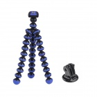 JUSTONE Portable Stand Holder Mini Octopus Tripod Mount for GoPro Hero 2 / 3 / 3+ - Black + Blue