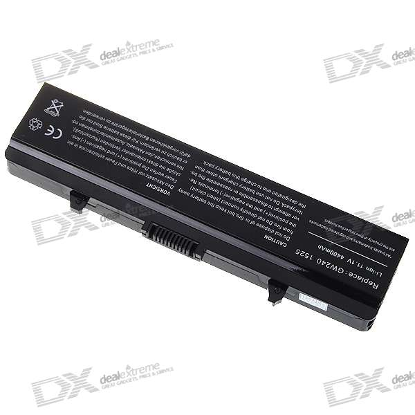 Dell 1525 Compatible 4400mAh Replacement Battery for Dell 1525/1526 Series
