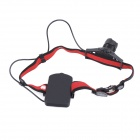 YP-3902A Outdoor LED 200lm 3-Mode White Light Headlamp - Black + Red (3 x AAA)