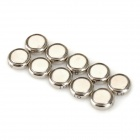 Sony 621 1.55V Lithium-ion Nonchargable SR621SW Button Cell Battery for Wrist Watch (10PCS)