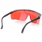 Plastic Green Laser Protection Sunglasses - Red + Black