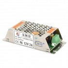 BTY 12V 2A 24W Switching Power Supply - Silver (110V~220V)