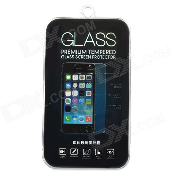 Protective Tempered Glass Screen Guard Protector for IPHONE 5 / 5S / 5C - Transparent glasto 9h clear tempered glass screen protector for iphone 5 5s golden transparent