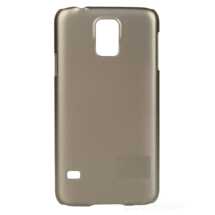 Stylish Protective PC Back Case for Samsung Galaxy S5 - Champagne Gold