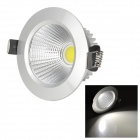 HUGEWIN HTD754 5W 400LM 6400K COB White Light Ceiling Bulb w/ Transformer (AC 85~265V)