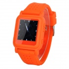 "Q998 1.5"" TFT Screen MP4 Multimedia Wristwatch - Orange + Silver (2GB / Li-ion Battery)"