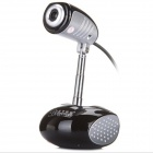 BLUELOVER S11 USB 2.0 300KP Wired Webcam w/ Microphone - Black