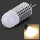 CJ 011 G4 1.5W 60LM 3000K 6070 Warm White Light Bulb (AC/DC 12V)