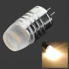 021 G4 1.5W 60LM 3000K COB Warm White Light Bulb (DC 12V)