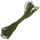 OUMILY 7-Core Survival Parachute Cord Paracord - Army Green (10M)
