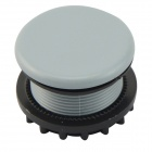22mm Button Switch Panel / Hole Plugs - Grey + Black (10 PCS)