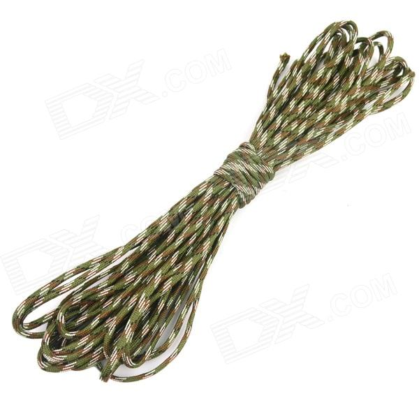 OUMILY 7-Core Survival Parachute Cord Paracord - Camouflage (10M)