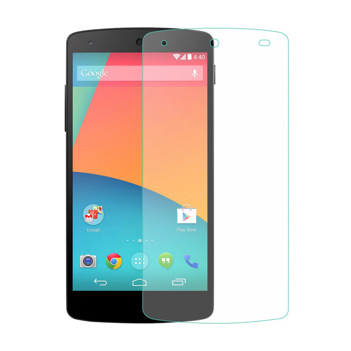 LINK DREAM 0.33mm 2.5D Explosion-proof Tempered Glass Screen Guard for Google Nexus 5 - Transparent