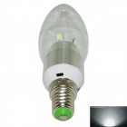 LZ-01 E14 3W 280lm 6-SMD 5730 LED Cold White Candle Lamp Bulb