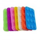A100 Mini Double-sided Suction Cup Affixed Mat Pad - Multicolored (7 PCS)