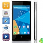 "DOOGEE LATTE DG450 MTK6582 Quad-Core Android 4.2.9 WCDMA Bar Phone w/ 4.5"" IPS, GPS - Black + Silver"