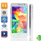 "Mini S5 MTK6572 Quad-Core Android 4.2.2 Bar Phone w/ 4.5"" QHD, Wi-Fi, OTG - White"