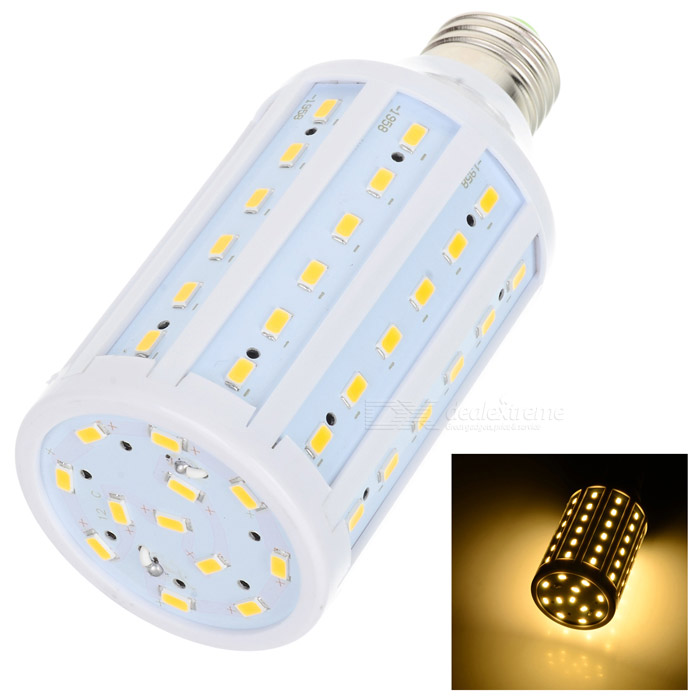 E27 15W 1400lm 72-5730 LED Warm White Light Corn Bulb (AC 220V)