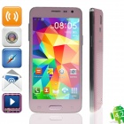 "Mini S5 MTK6589 Quad-Core Android 4.2.2 Bar Phone w/ 4.5"" QHD, Wi-Fi, OTG - Pink"