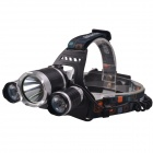 SingFire SF-555E 3-Cree XM-L T6 2250lm 4-Mode White Headlamp w/ 5V USB Output (2x18650)