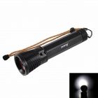 KINFIRE KC40 IP68 4-LED 2600lm Diving Flashlight - Black (2 x 26650)