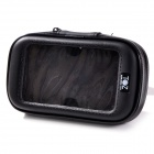 TOZ Bike Cellphone Holder w/ Case for Samsung Galaxy S3 + More - Black + Transparent