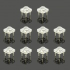 MaiTech 5mm LED High Brightness Yellow Light Emitting Diodes - Transparent (10 PCS)