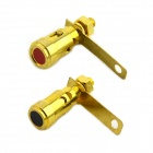 MaiTech 205 Speaker Terminals / Divider Binding Posts - Golden(2 PCS)