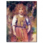 Hand Painted Gypsy Girl Figure Oil Painting (40 x 60cm)