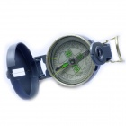 Acecamp 3106 Outdoor Camping Aluminum Alloy Compass - Gray