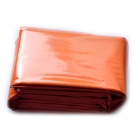 Acecamp 3804 Outdoor Camping Emergency Blanket - Orange + Silver (130 x 210cm)