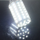 HZLED E27 15W 1400lm 84-SMD 5630 LED Cold White Light Corn Lamp- White