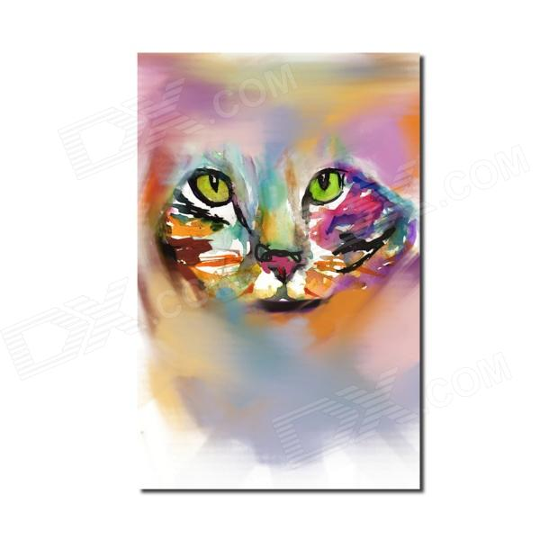 где купить  Iarts Hand Painted Animal Cat Style Oil Painting (40 x 60cm)  дешево