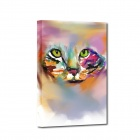 Iarts Hand Painted Animal Cat Style Oil Painting (40 x 60cm)