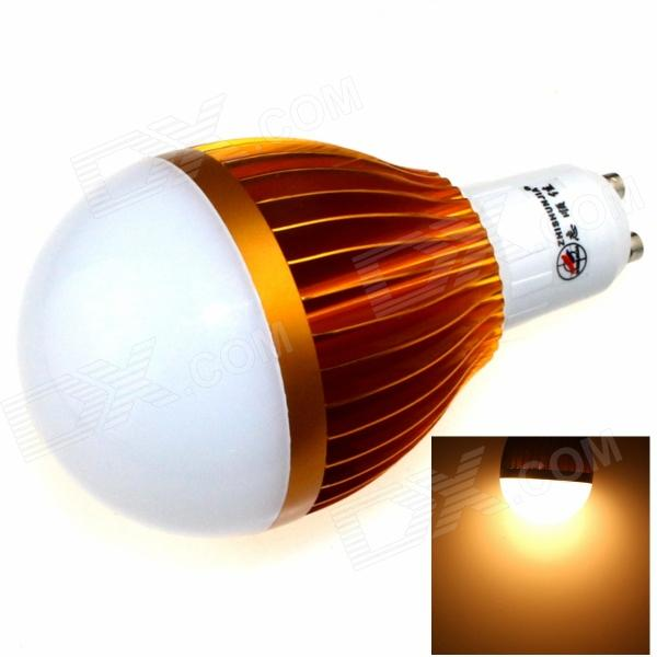 ZHISHUNJIA GU10 12W 1000lm 3000K 24-SMD 5630 LED Warm White Light Bulb - White + Golden (85~265V) cxhexin e27cx24 e27 7w 3000k 500lm 24 5630 smd led warm white light white ac 85 265v